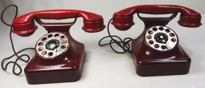 Telephone geobra 1937 bakelite avant usine playmobil