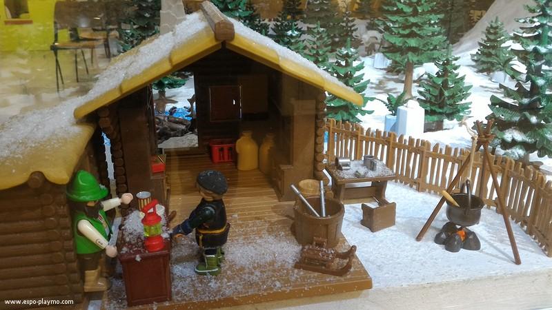 Vitrine reine des neiges en playmobil hopital robert debre 10 vitrine reine des neiges en playmobil hopital robert debre