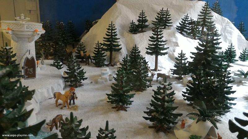 Vitrine reine des neiges en playmobil hopital robert debre 3 vitrine reine des neiges en playmobil hopital robert debre