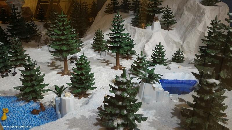 Vitrine reine des neiges en playmobil hopital robert debre 4 vitrine reine des neiges en playmobil hopital robert debre