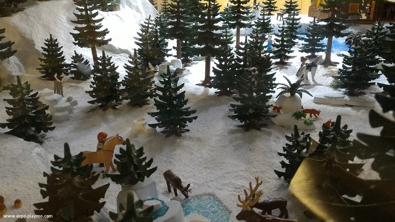 Vitrine reine des neiges en playmobil hopital robert debre 6 vitrine reine des neiges en playmobil hopital robert debre