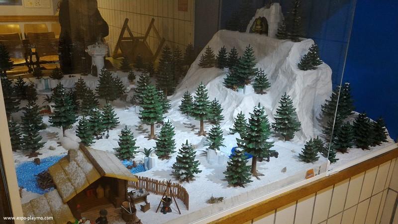 Vitrine reine des neiges en playmobil hopital robert debre 7 vitrine reine des neiges en playmobil hopital robert debre