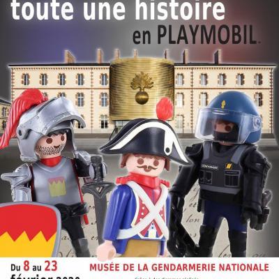 Affiches Expositions et Evénements Playmobil