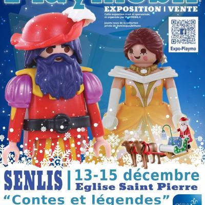 Affiche exposition playmobil senlis 2019