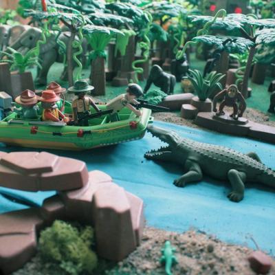 Aventure dans la jungle en Playmobil