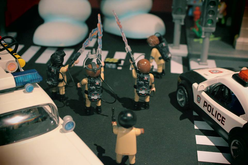 playmobil ghostbusters par dominique béthune