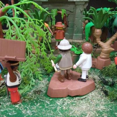 Exposition playmobil archeologie dominique bethune oise 6