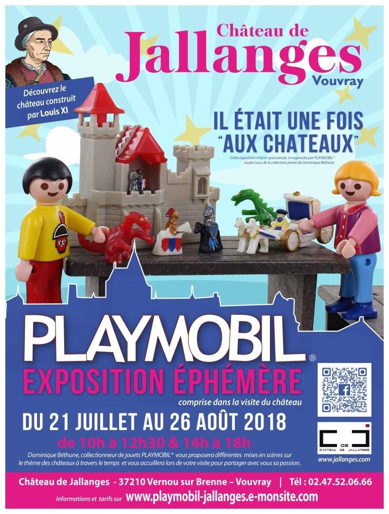 Exposition playmobil au chateau de jallanges ete 2018 v2