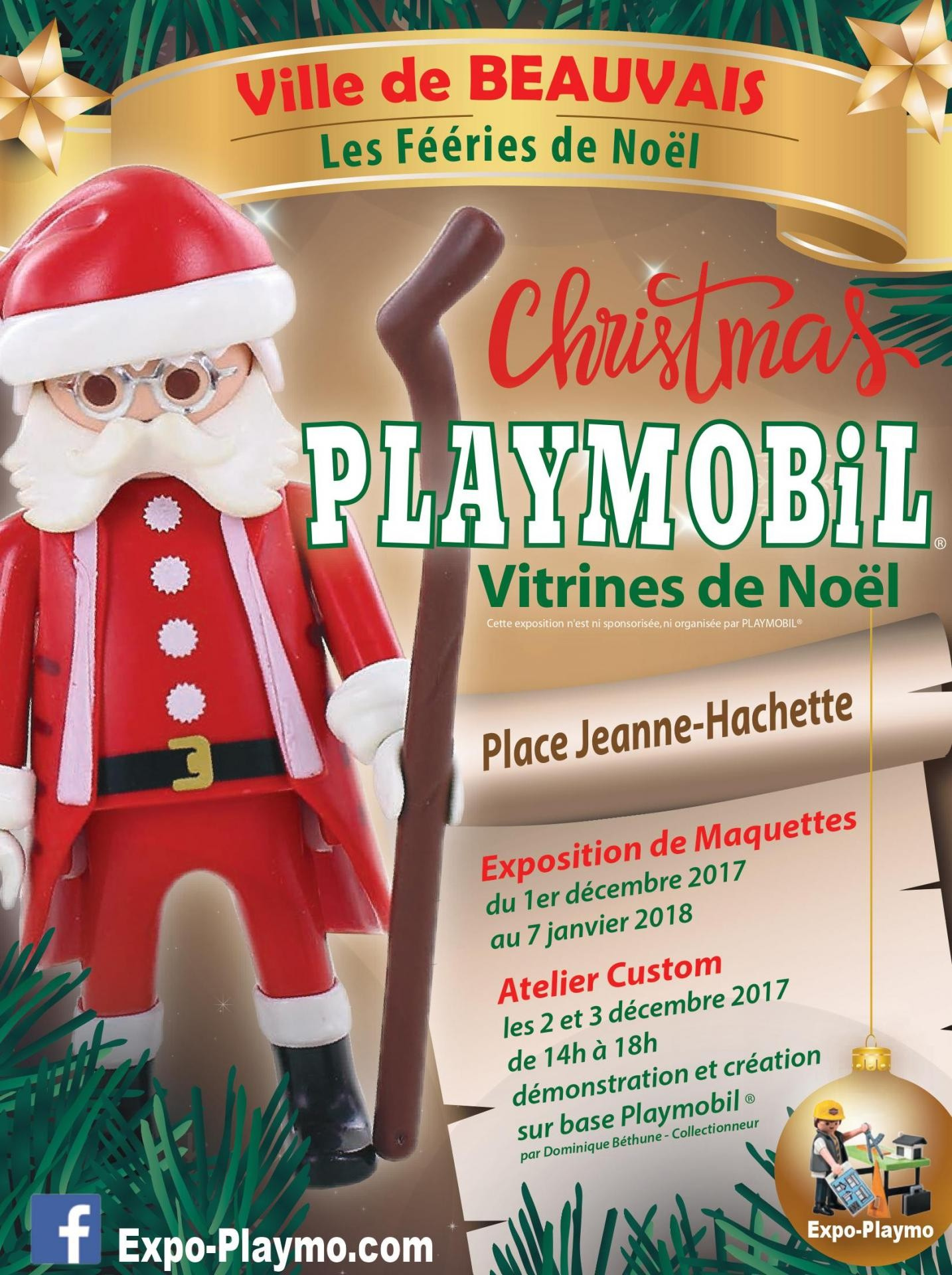 Exposition playmobil beauvais dominique bethune 1