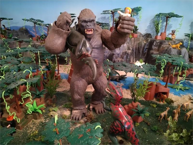 King Kong en Playmobil