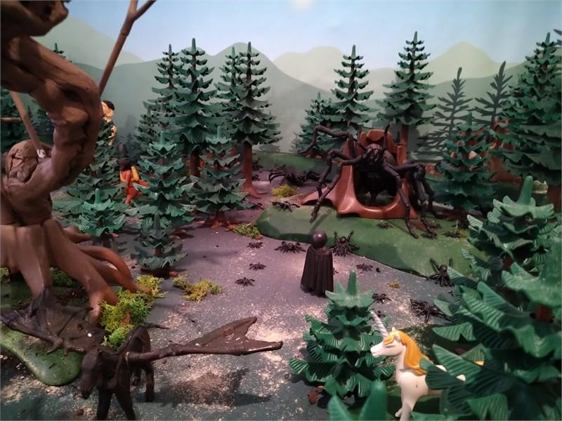 Harry potter en playmobil - personnages créés par Valérie Menès
