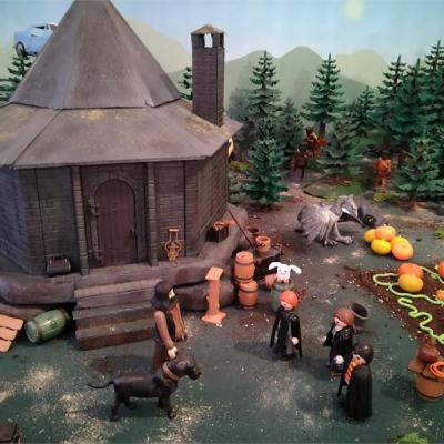 Harry potter en playmobil personnages créés par Valérie Menès