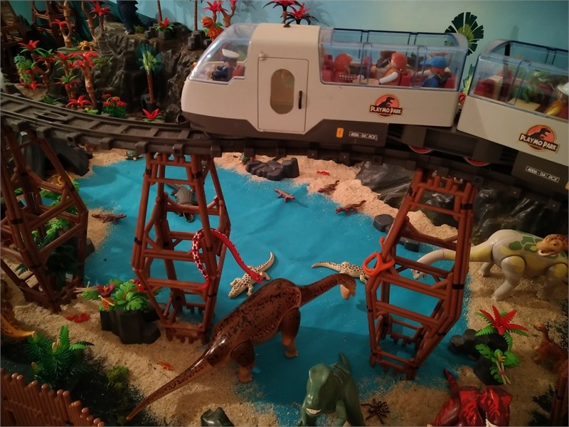 Jurassic Park en Playmobil