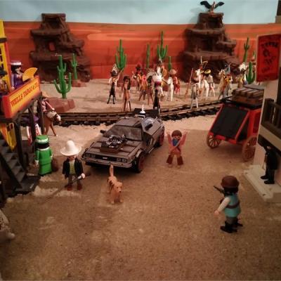 Retour vers le futur 3 en Playmobil