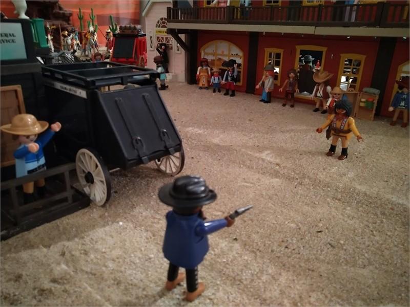 Mort ou vif en Playmobil