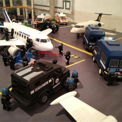 L'assaut en Playmobil