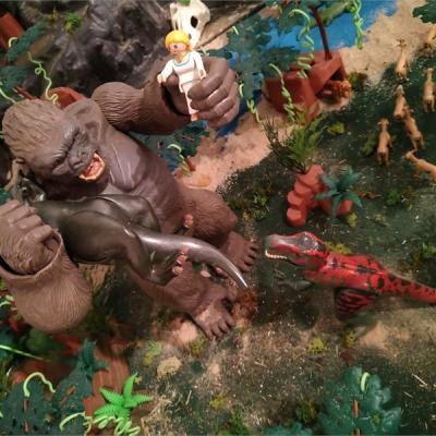 King Kong en Playmobil