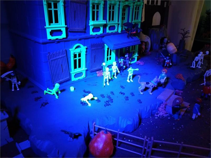 Scooby Doo en Playmobil - The Halloween hotel Haunt