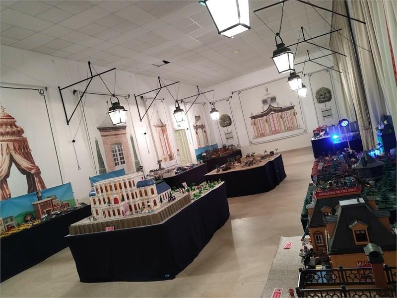 Exposition Playmobil sur le cinéma au château de Breteuil en 2020