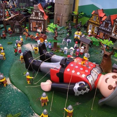 Gulliver en Playmobil