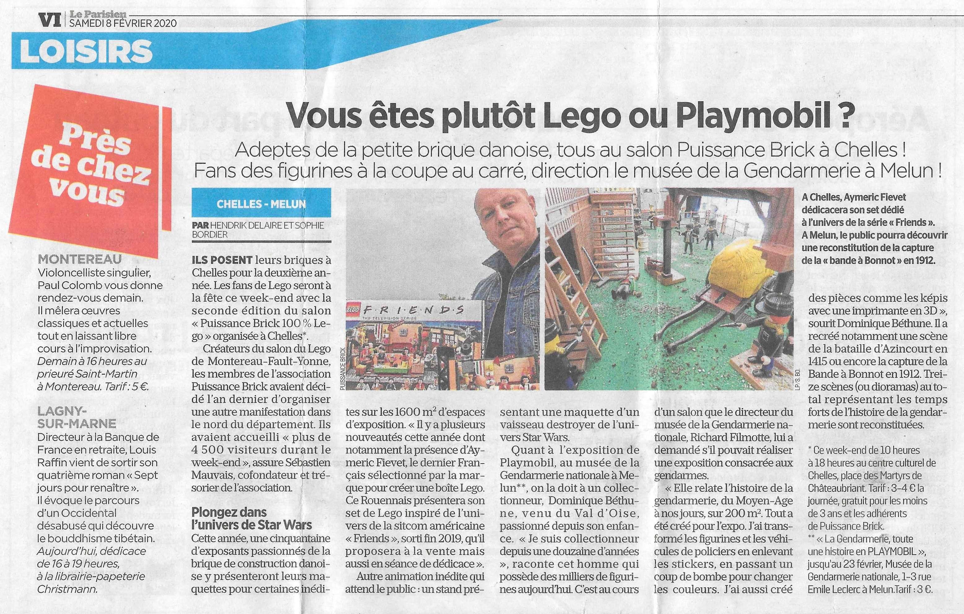 Exposition playmobil gendarmerie de melun