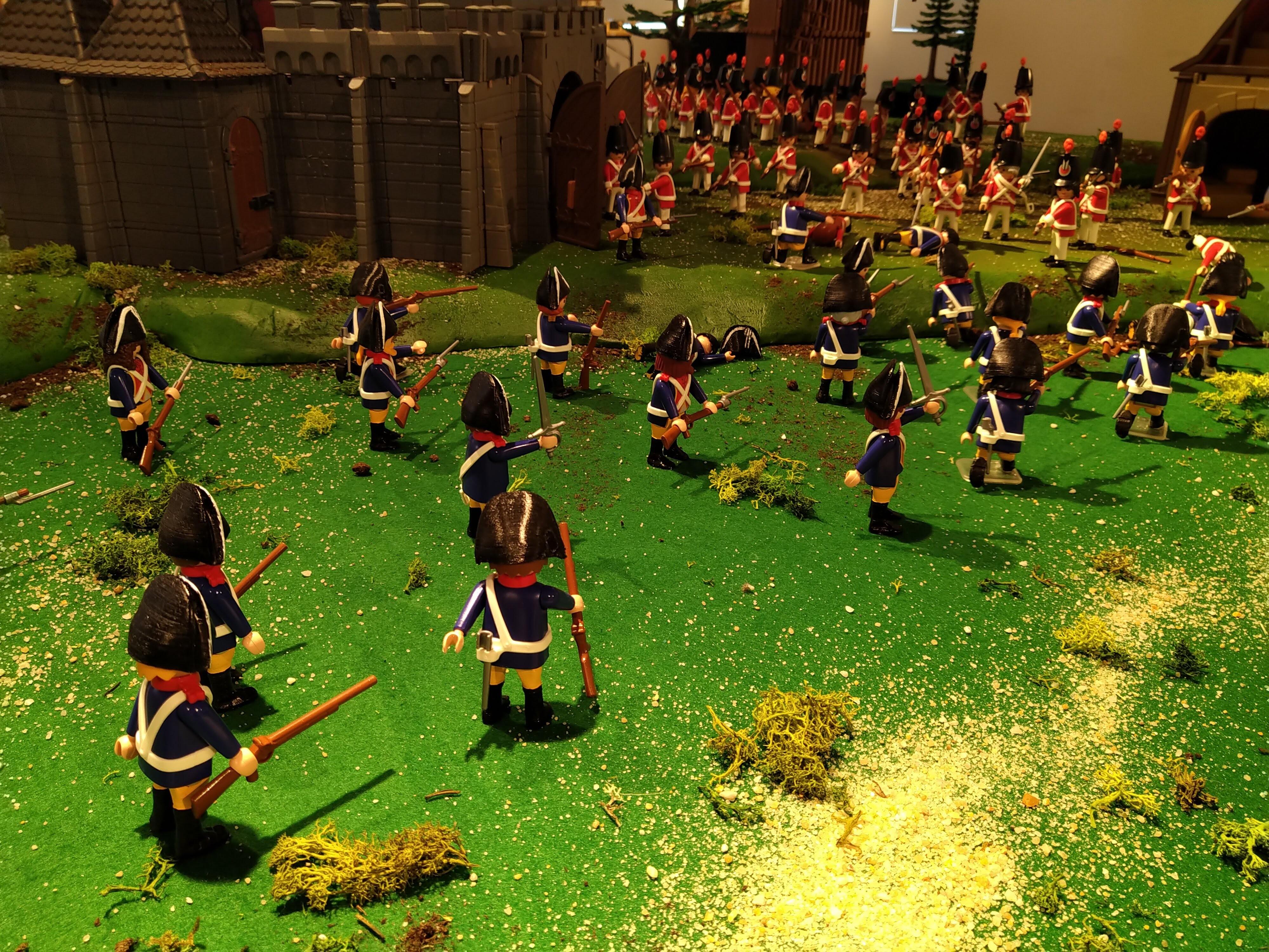 La gendarmerie playmobil pendant la guerre de crimée en 1855