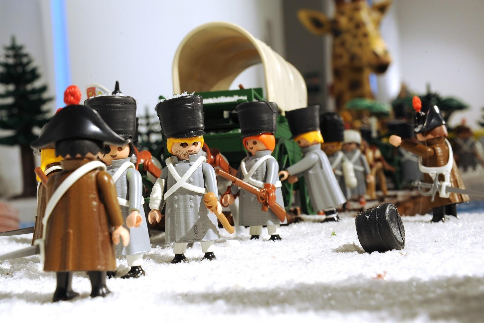 La gendarmerie en mission pendant la retraite russie en 1812