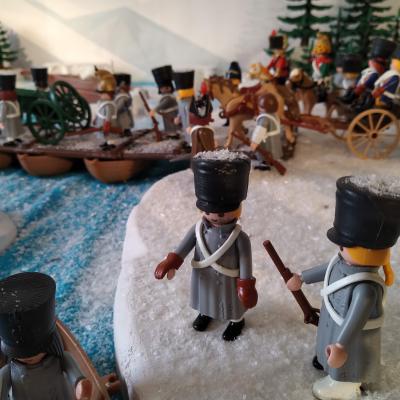 Exposition playmobil gendarmerie retraite russie dominique bethune 8