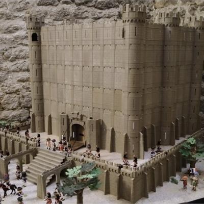 Exposition playmobil sur l'histoire - 1789 prise de bastille dominique bethune