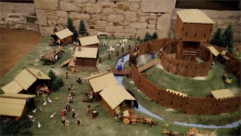 Exposition playmobil sur l'histoire - château motte
