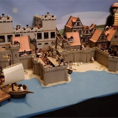 Exposition playmobil sur l'histoire - fortifications de Vauban