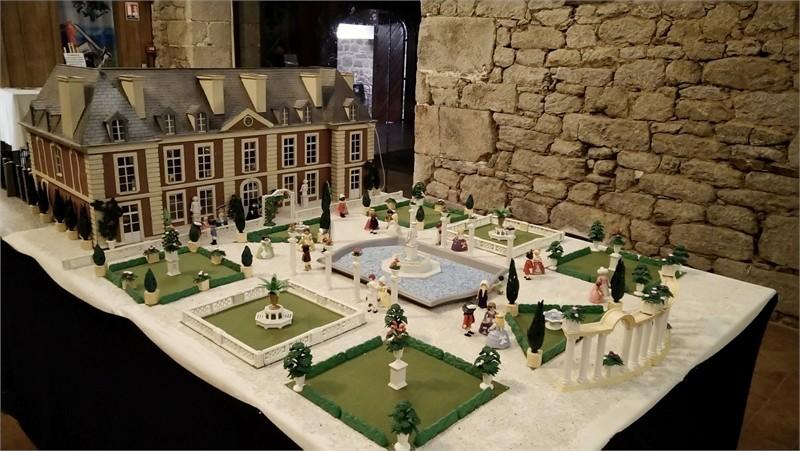 Exposition playmobil sur l'histoire - jardins à la francaise