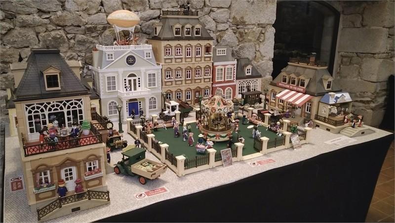 Exposition playmobil sur l'histoire -  la belle époque 1900