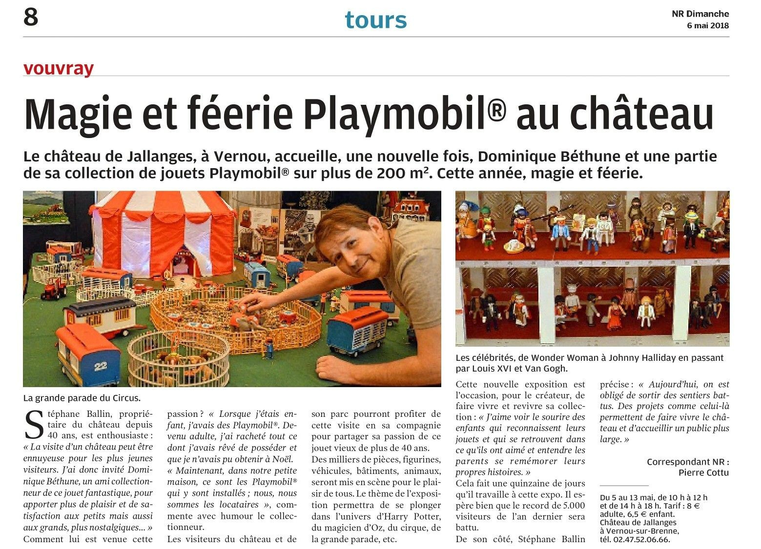 Exposition Playmobil à Jallanges