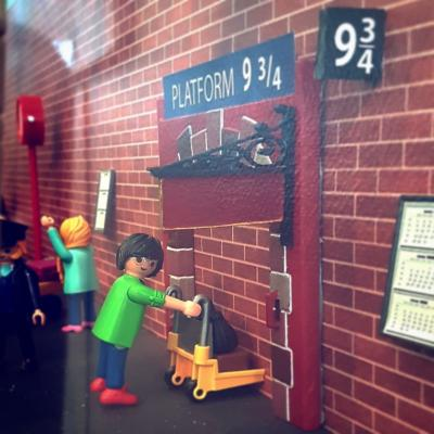 Exposition Playmobil au Jardin Botanique de Nancy