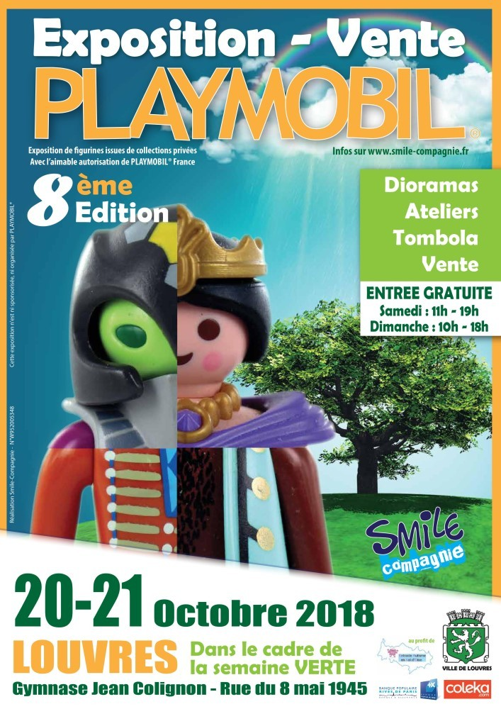 Exposition playmobil louvres 2018 smile compagnie