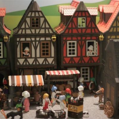 Exposition Playmobil au Musée de l'Archéoscope de Bouillon