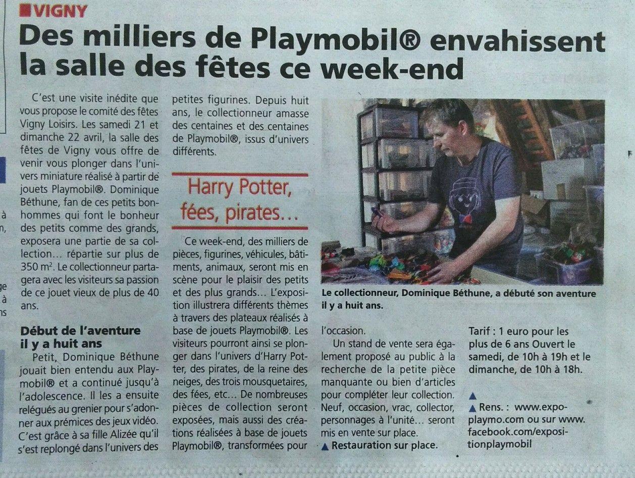 Exposition Playmobil de Vigny