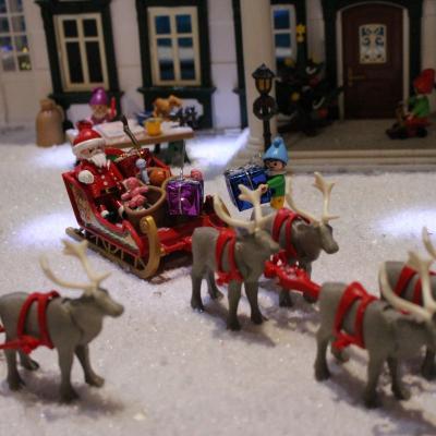 L'atelier du Père Noël en Playmobil