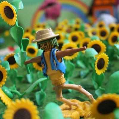 Le magicien d'oz en Playmobil