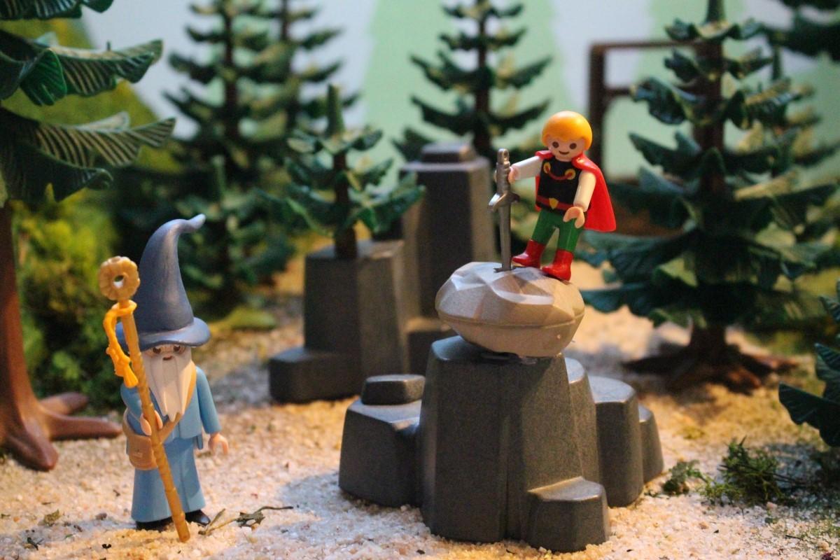 La légende du roi Arthur en Playmobil