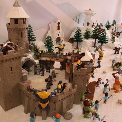 Le peuple des glaces en Playmobil