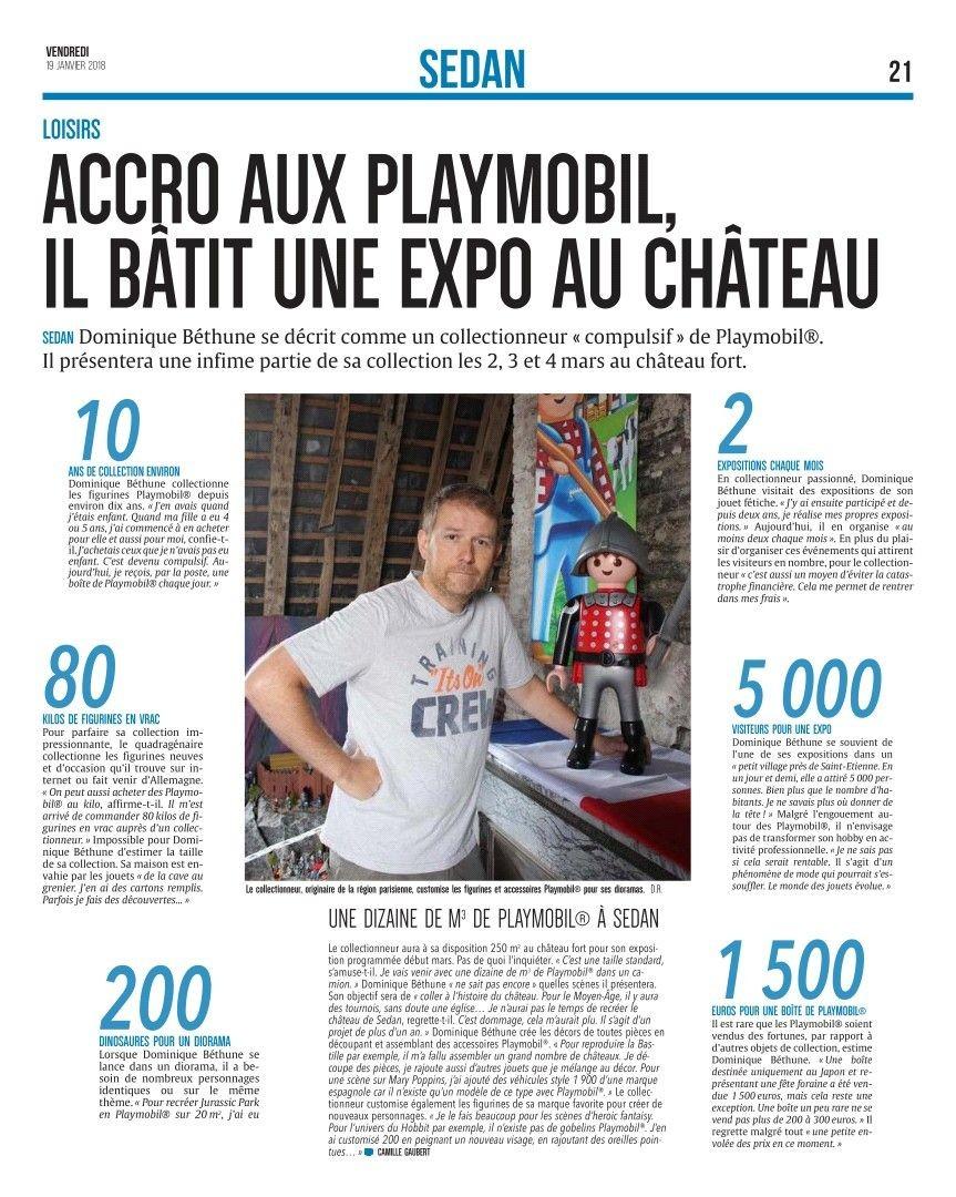 Exposition Playmobil au château fort de Sedan