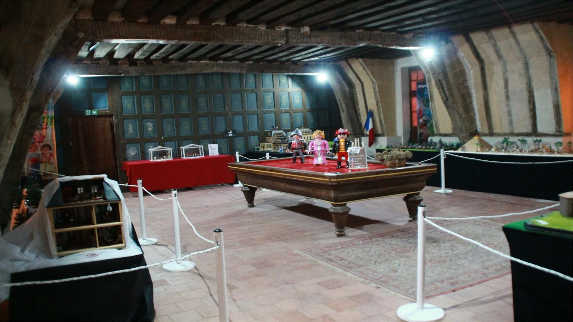 Exposition Playmobil sur le cinéma au Château de Selles-Sur-Cher