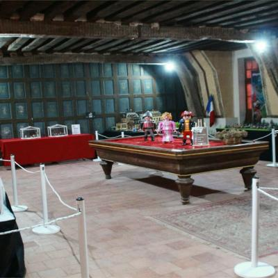 Exposition Playmobil sur le cinéma au château de Béthune à Selles-Sur-Cher