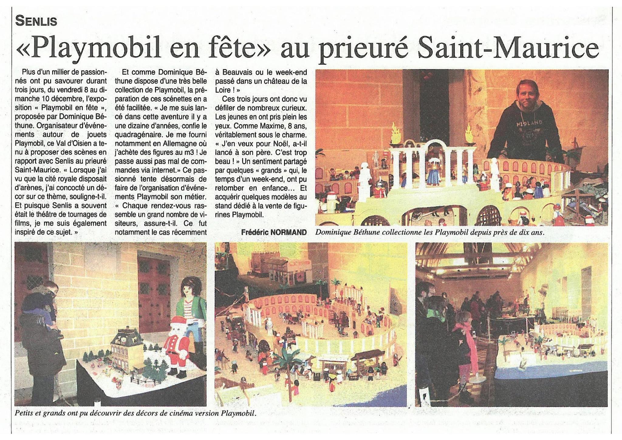 Exposition Playmobil Senlis au Prieuré