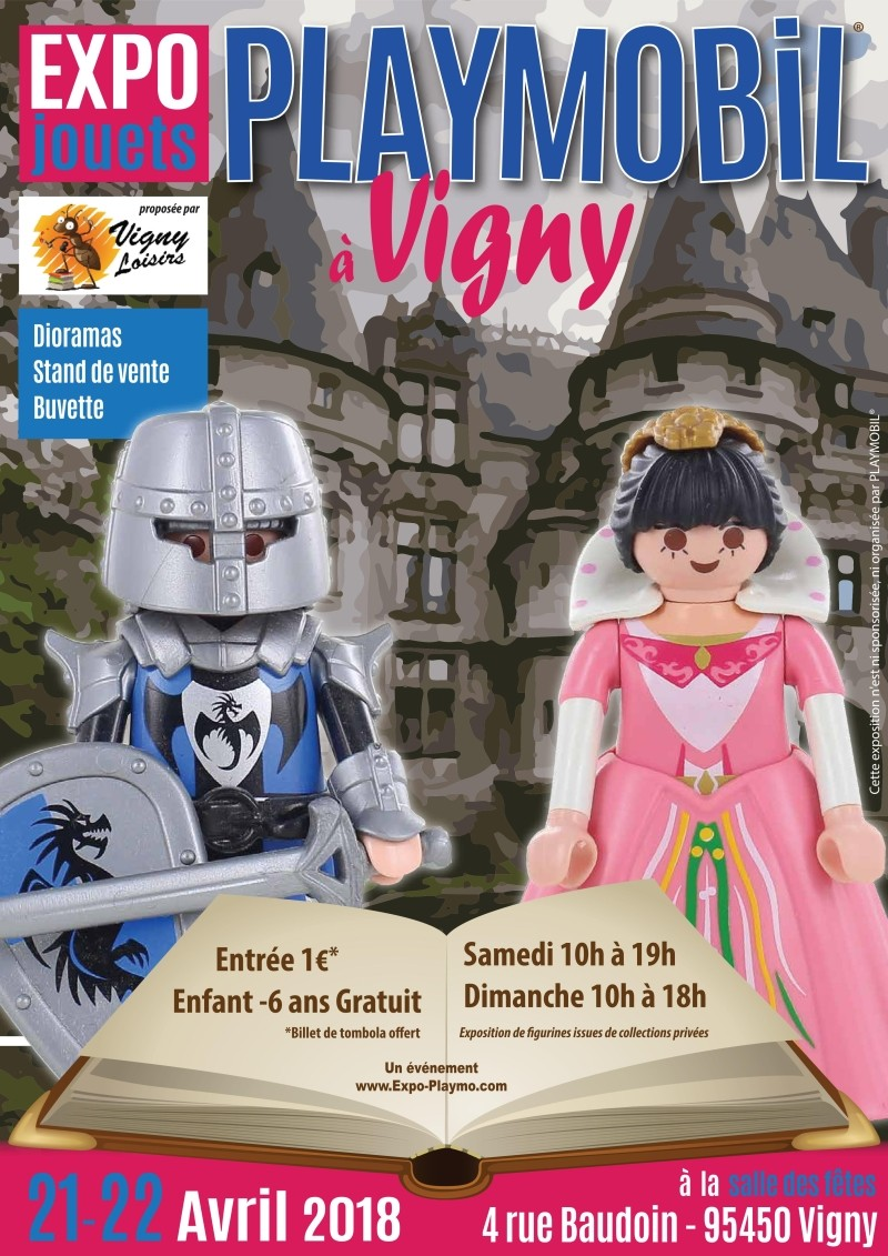 Exposition playmobil vigny 95 expo playmo