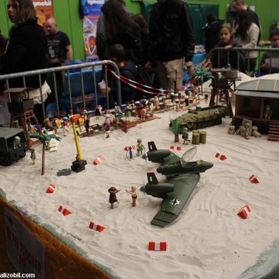 Indiana Jones en Playmobil un diorama réalisé par Dominique Béthune