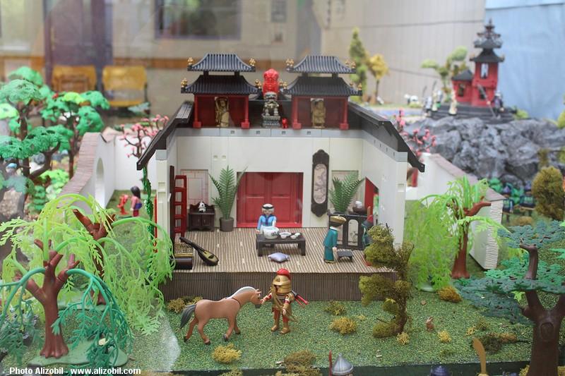 Le monde de Mulan en Playmobil par Alizée et Dominique Béthune - Décors Sparix