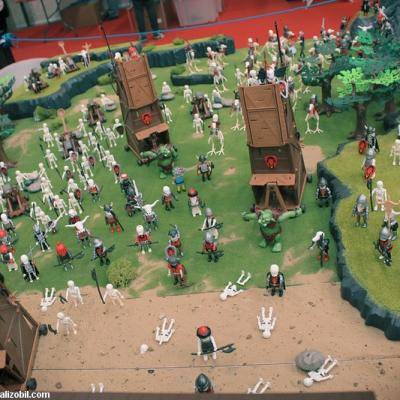 heroic fantasy playmobil - Merlin et l'armée des ténèbres - Dominique Béthune
